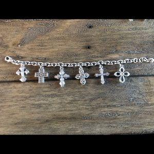 Brighton cross bracelet